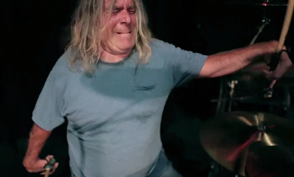 Dean Zimmer plays the drums extremely well