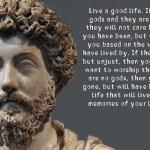 Marcus Aurelius quote about the gods - misattributed