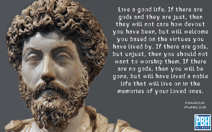 Marcus Aurelius quote about God